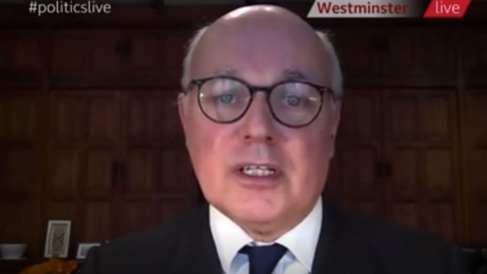 Iain Duncan Smith on Politics Live - Credit: BBC