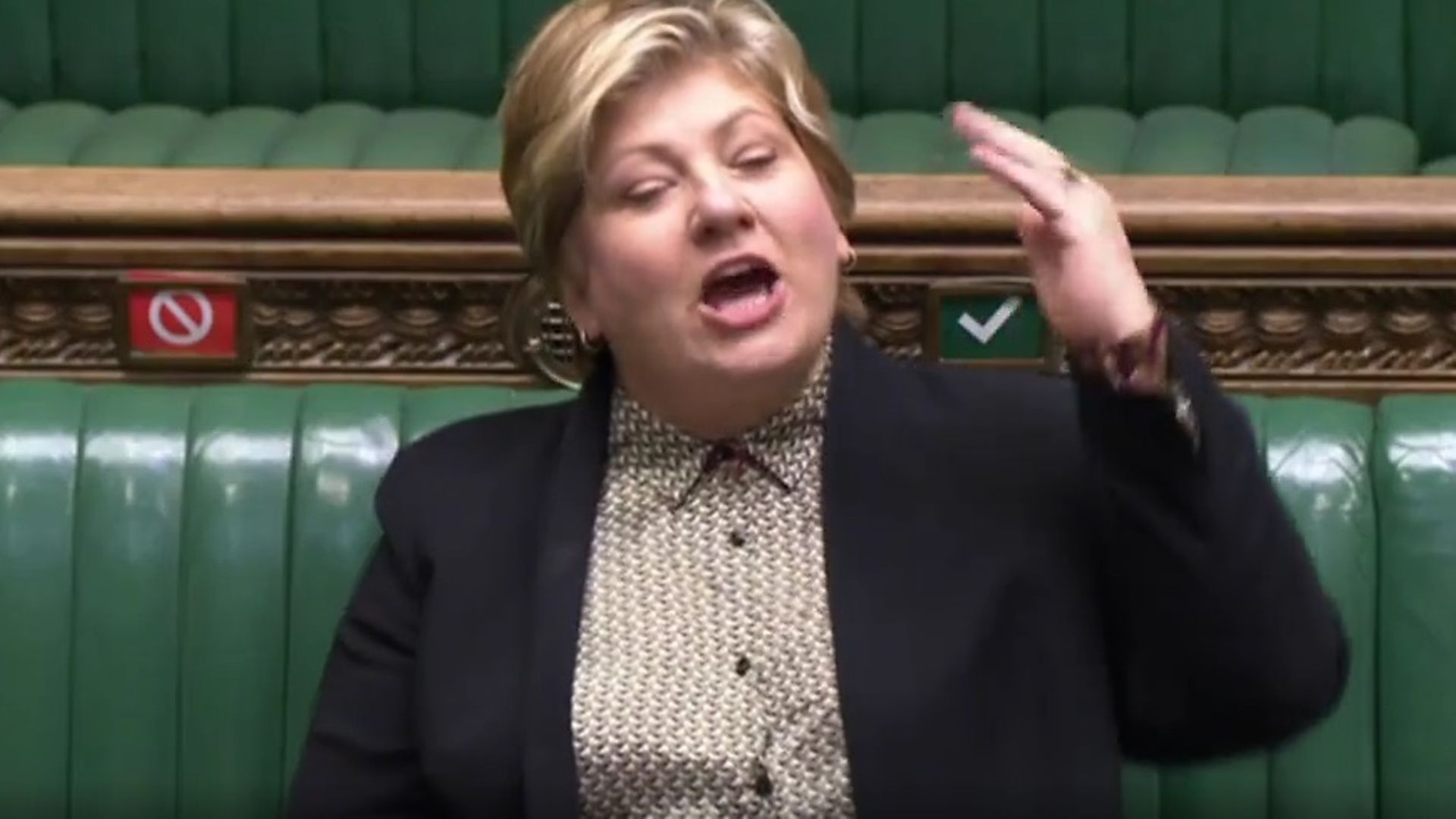 Emily Thornberry in the House of Commons - Credit: Parliament Live
