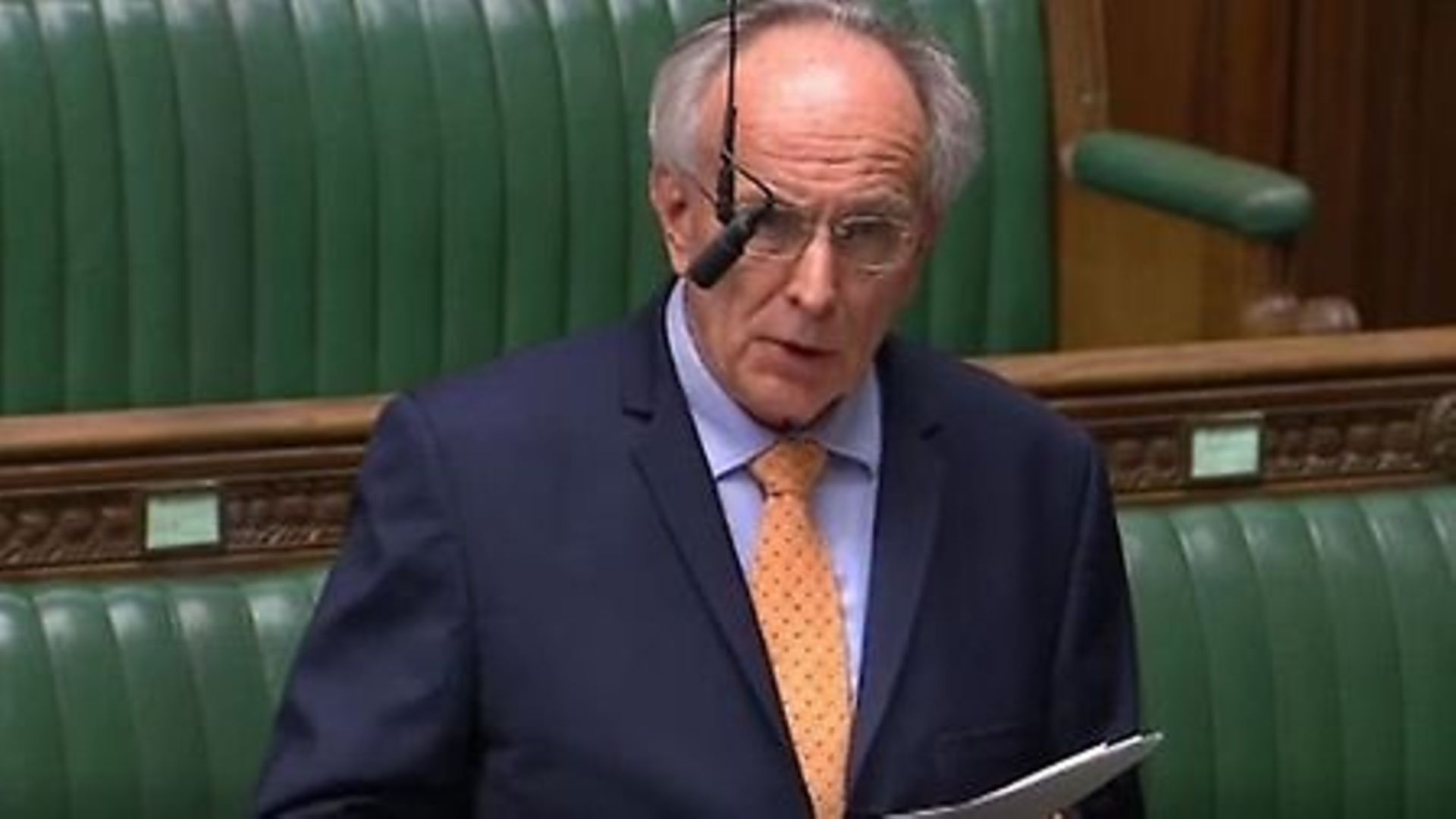 Peter Bone in the House of Commons - Credit: Parliament Live