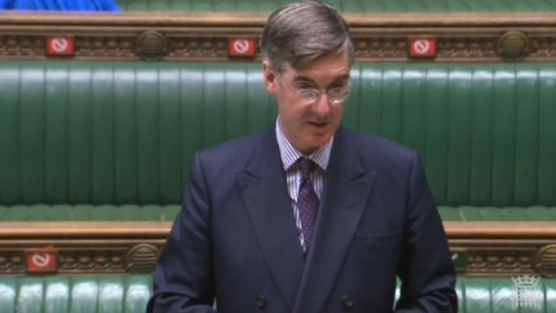 Jacob Rees-Mogg in the House of Commons - Credit: Parliamentlive.tv