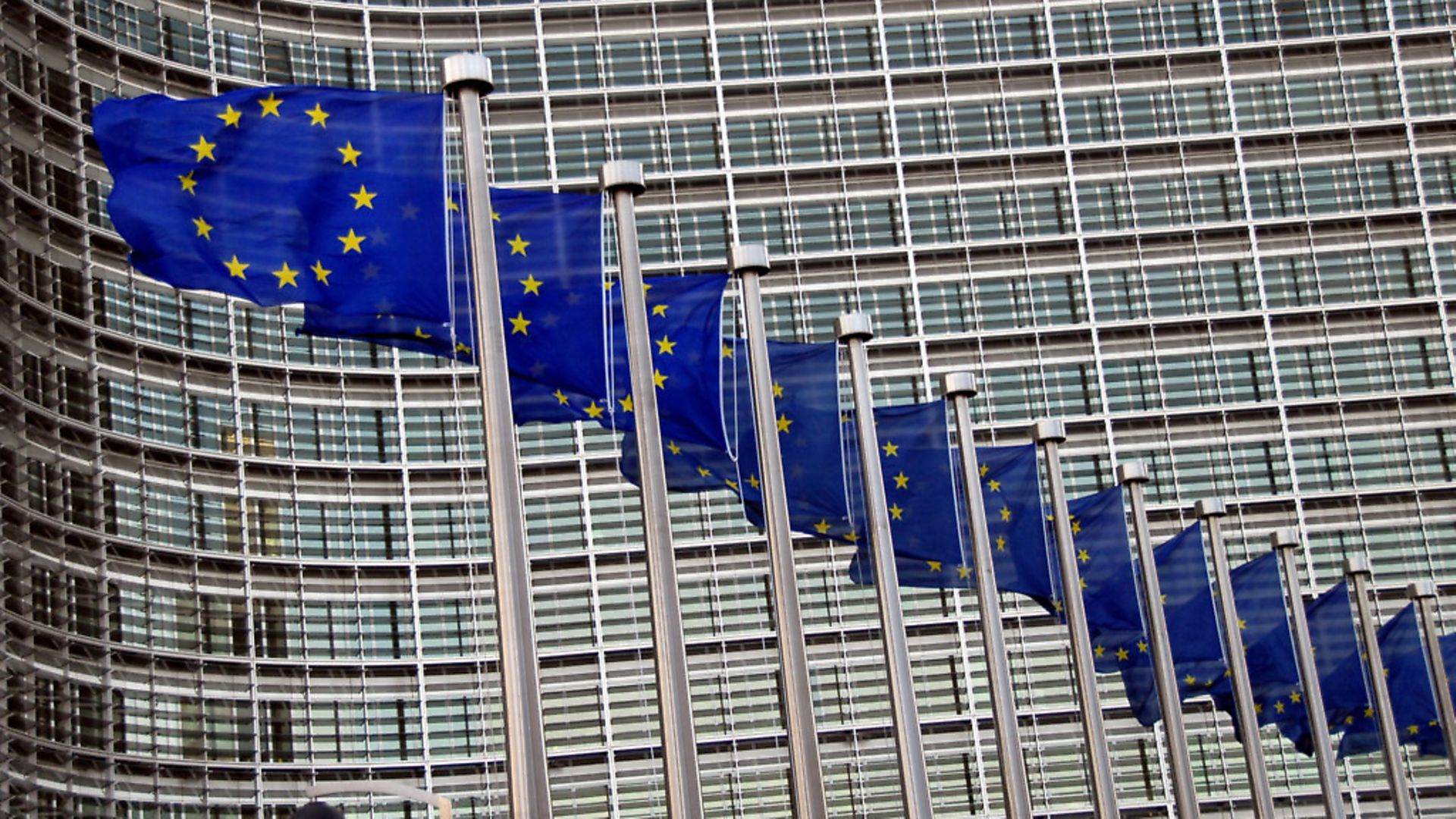 European Union flags in front of the Berlaymont Building in Brussels, Belgium. Picture: Getty Images - Credit: Getty Images
