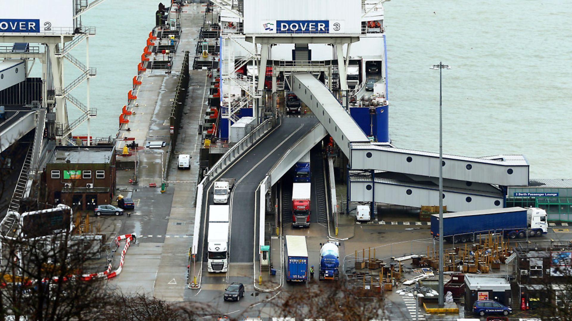 The Port of Dover in Kent - Credit: PA Archive/PA Images