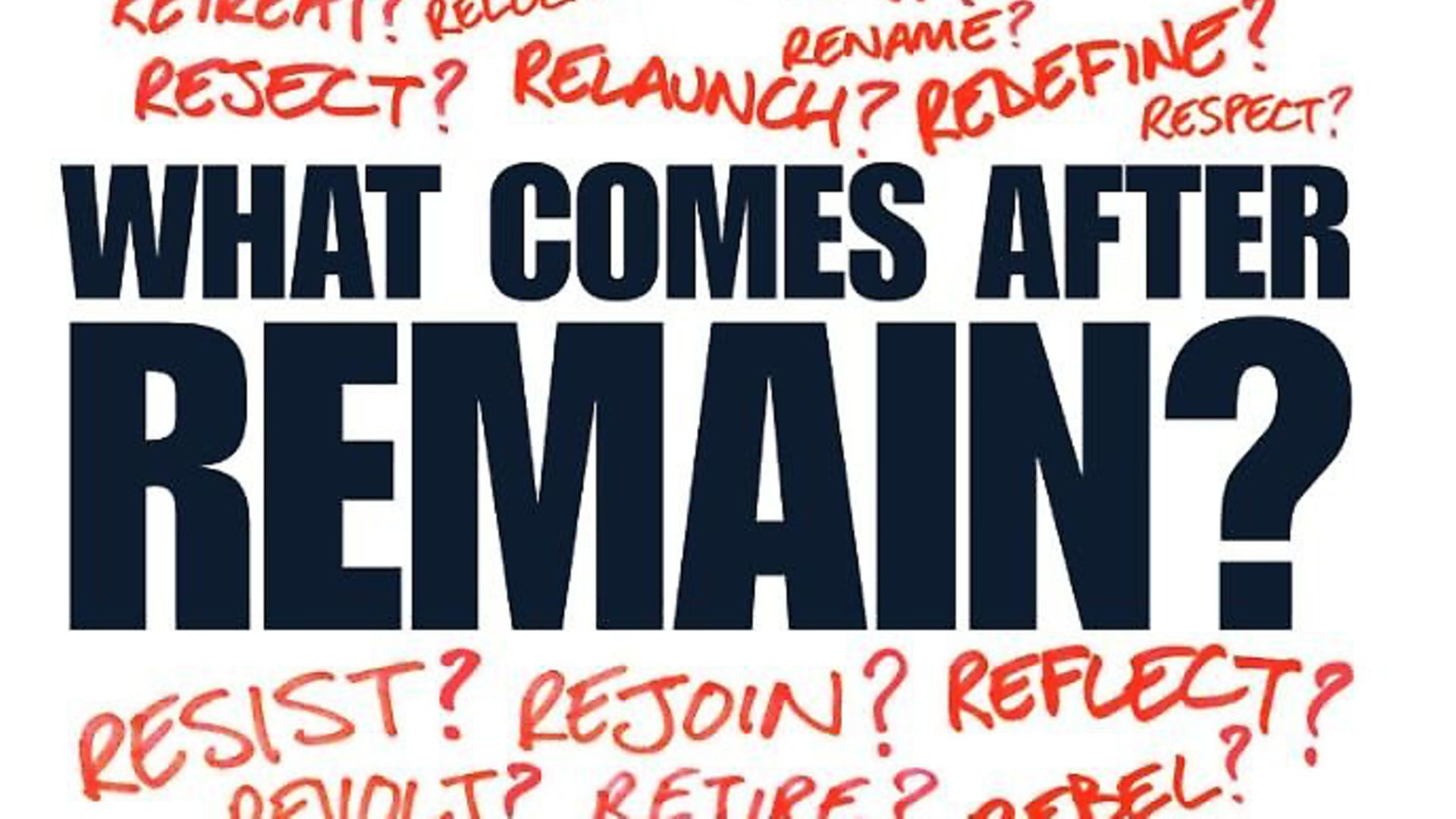 Issue 177 of The New European asked what next for the pro-European movement? - Credit: Archant