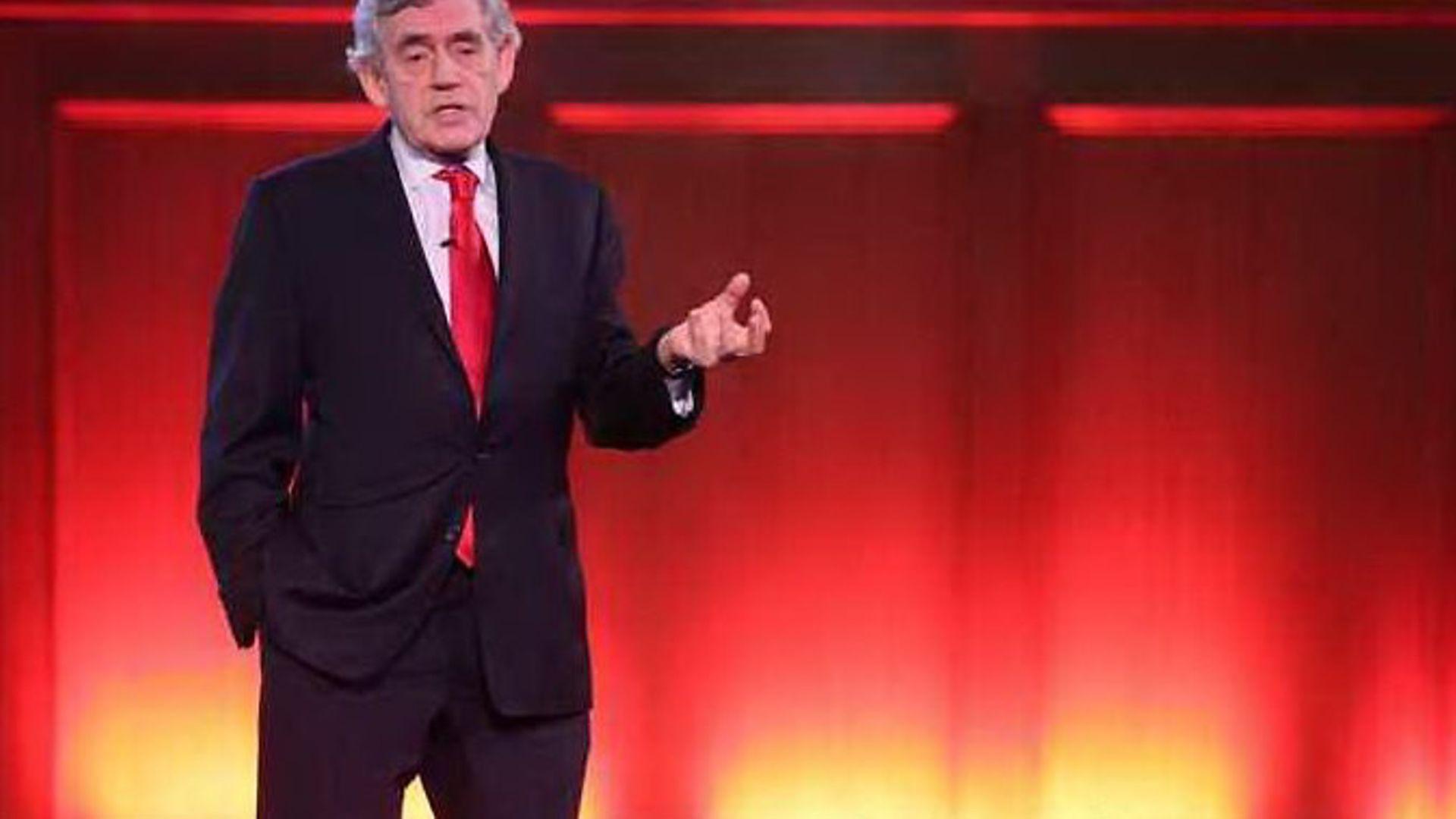 Gordon Brown - Credit: Jonathan Brady/PA Wire