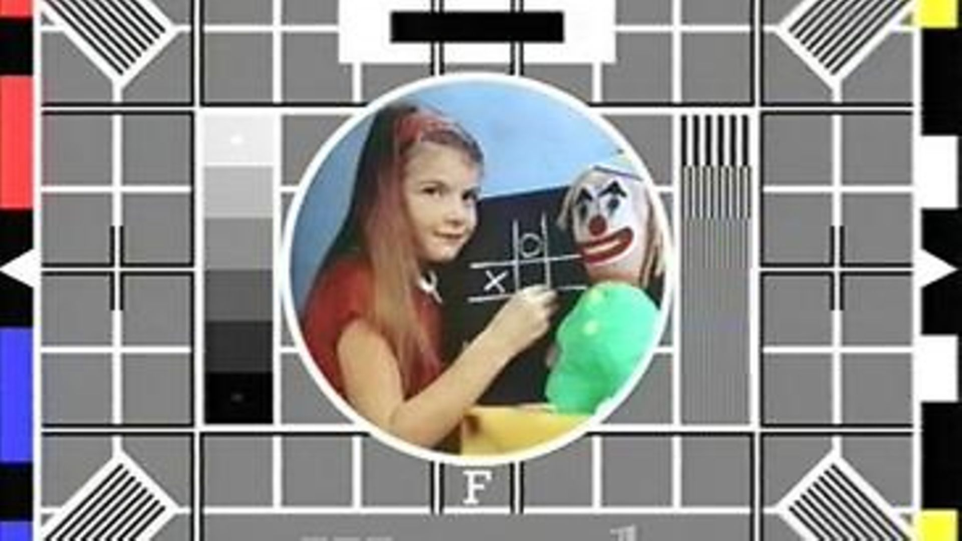 Test Card F, the test card used by the BBC until 1997 - Credit: Wikipedia