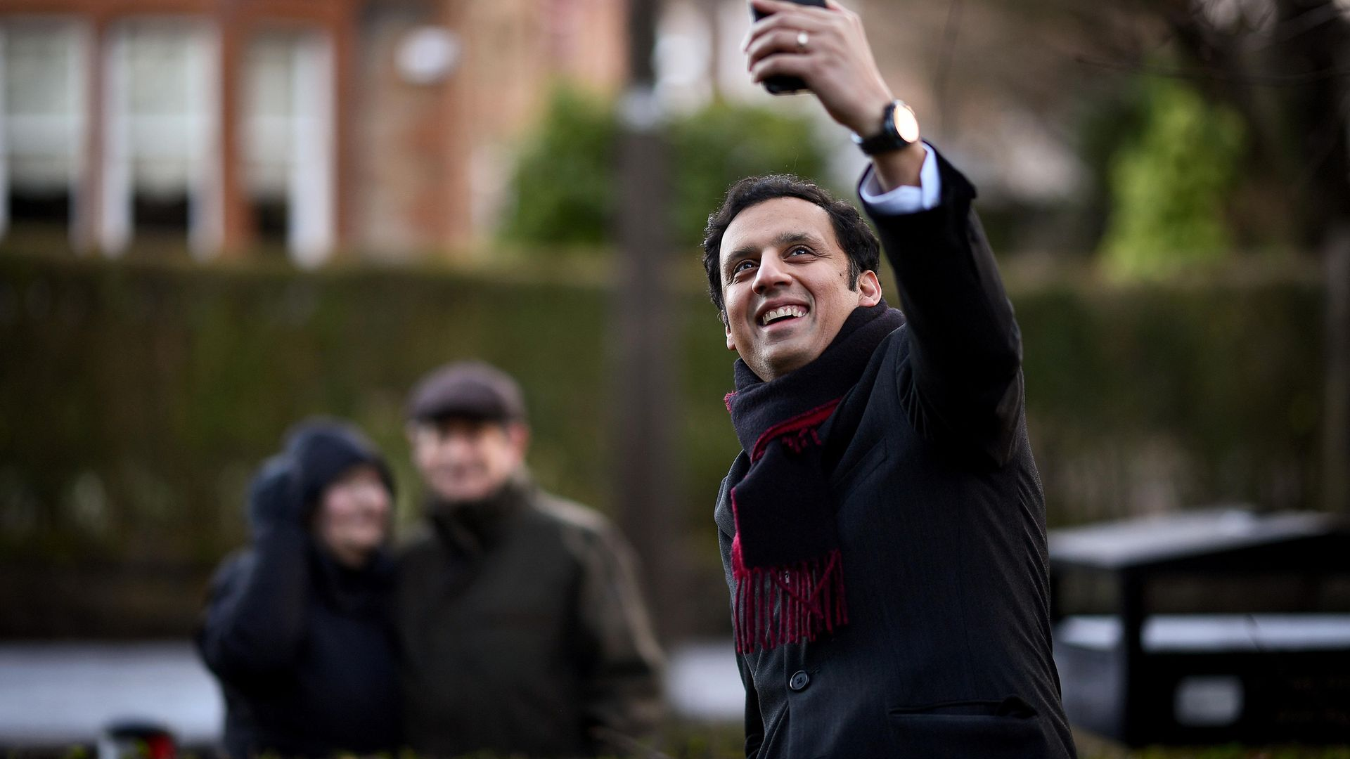 Scottish Labour MSP, Anas Sarwar, poses for a portrait in Glasgow, Scotland, shortly after announcing his bid to become the next Scottish Labour leader - Credit: Getty Images