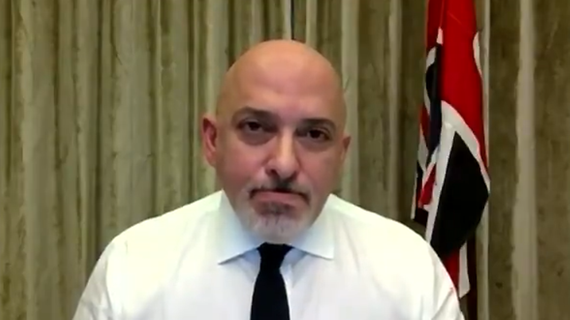 Vaccines minister Nadhim Zahawi has revealed he has an uncle to Covid-19 in the last week. - Credit: ITV