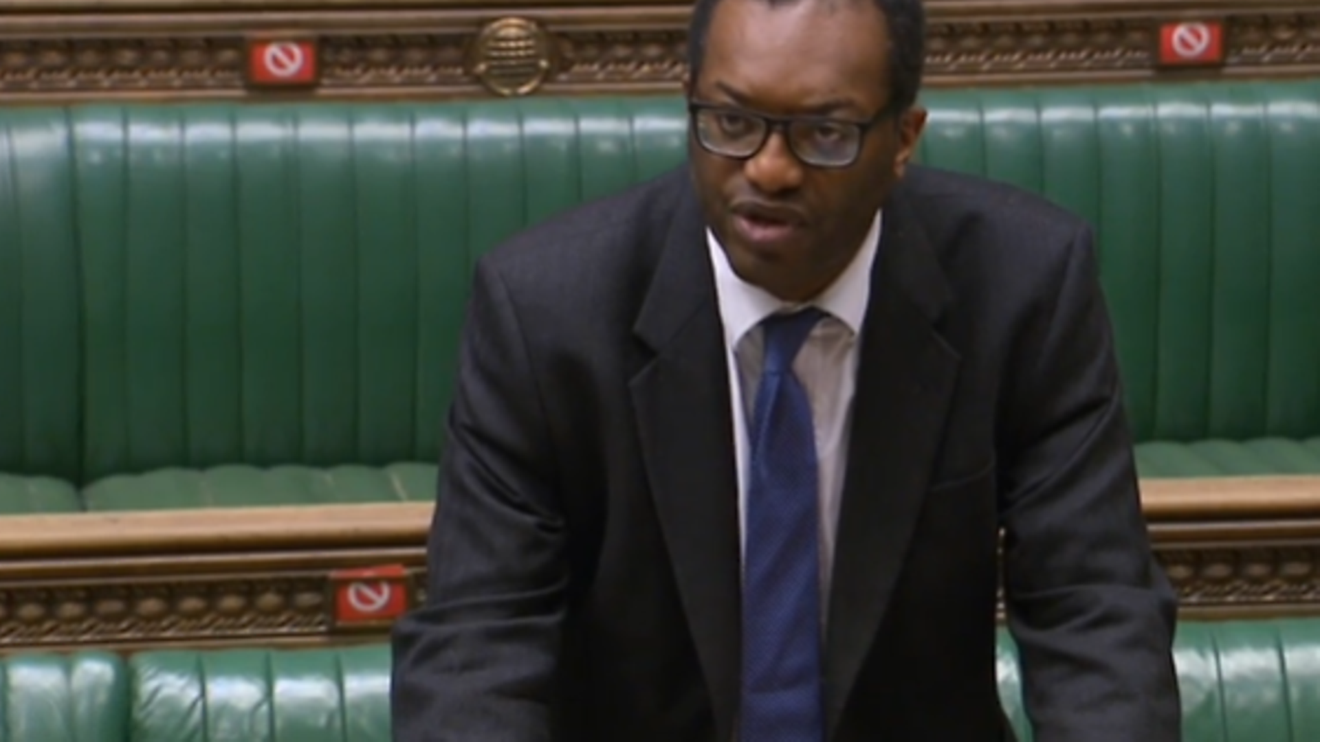Kwasi Kwarteng responds to a debate in the House of Commons - Credit: Parliament Live