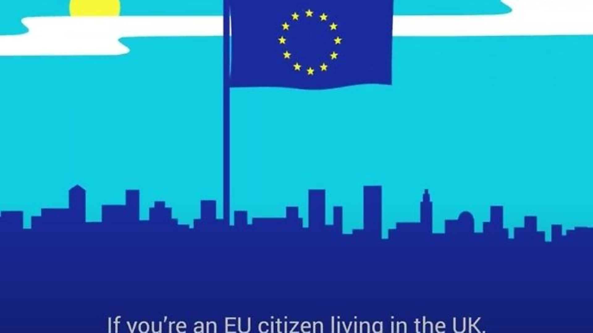 A government ad promoting the EU Settlement Scheme - Credit: YouTube