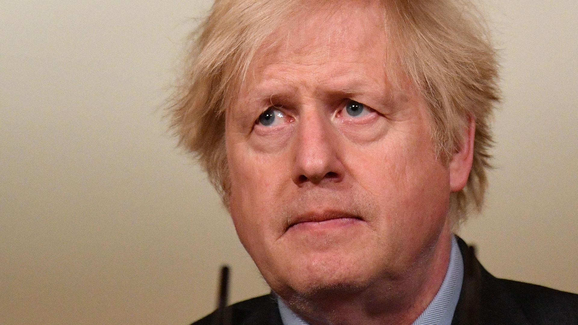 Prime minister Boris Johnson during a media briefing in Downing Street, London, on coronavirus (Covid-19) - Credit: PA