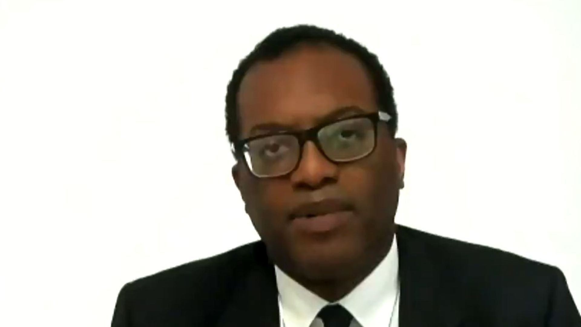 Secretary of state for business, energy and industrial strategy Kwasi Kwarteng - Credit: ITV Peston
