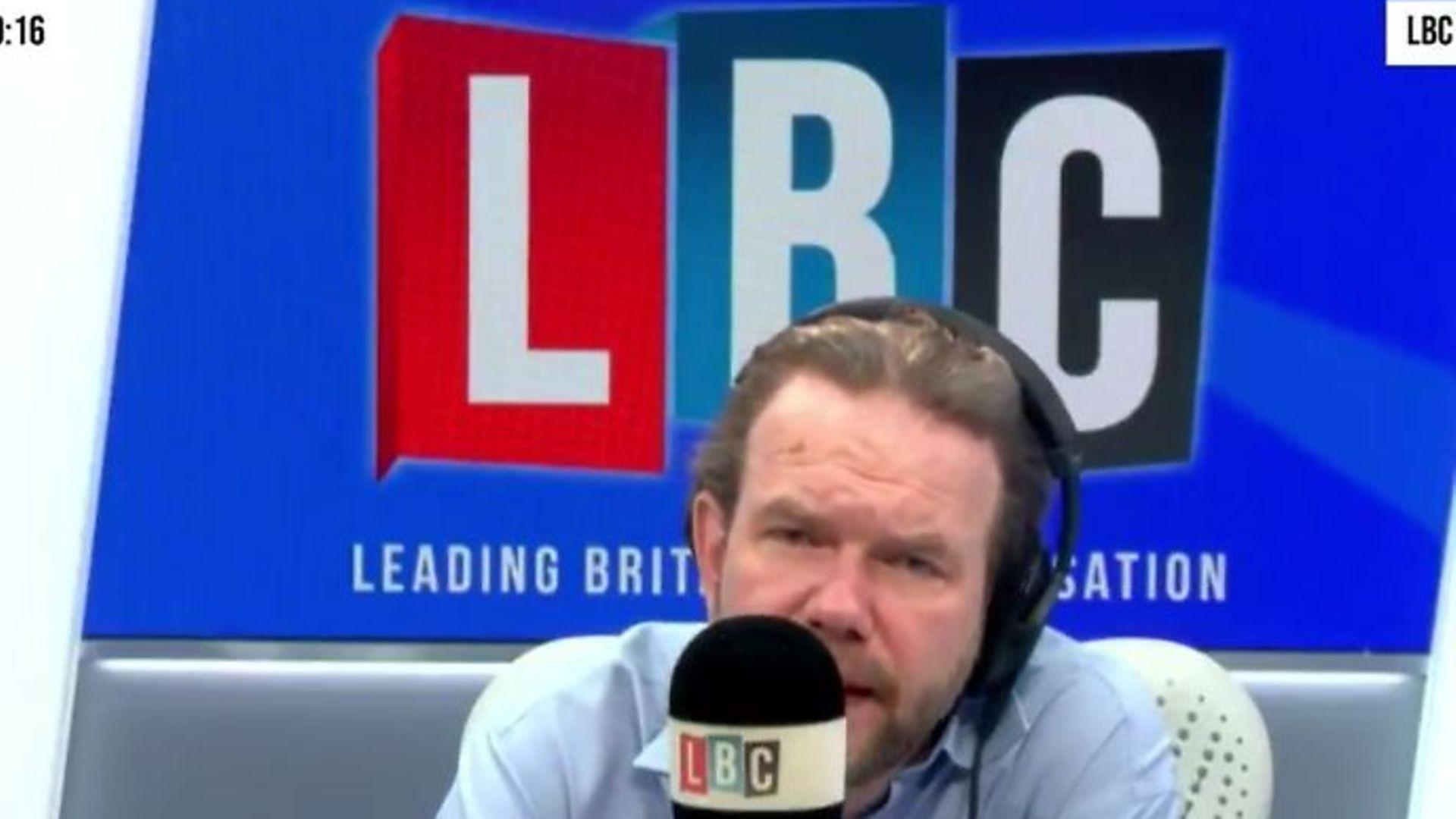 James O'Brien on LBC radio - Credit: Twitter, LBC radio