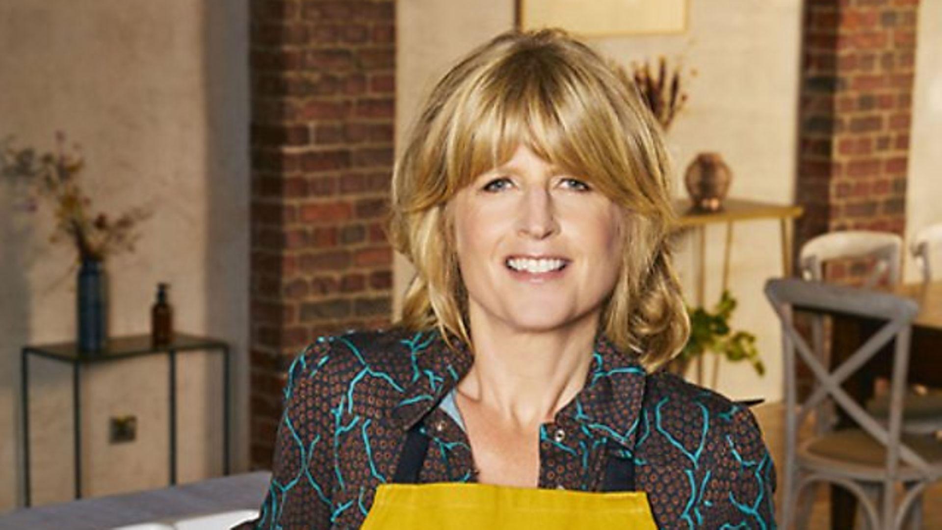 Rachel Johnson on the BBC's Celebrity Best Home Cook - Credit: BBC