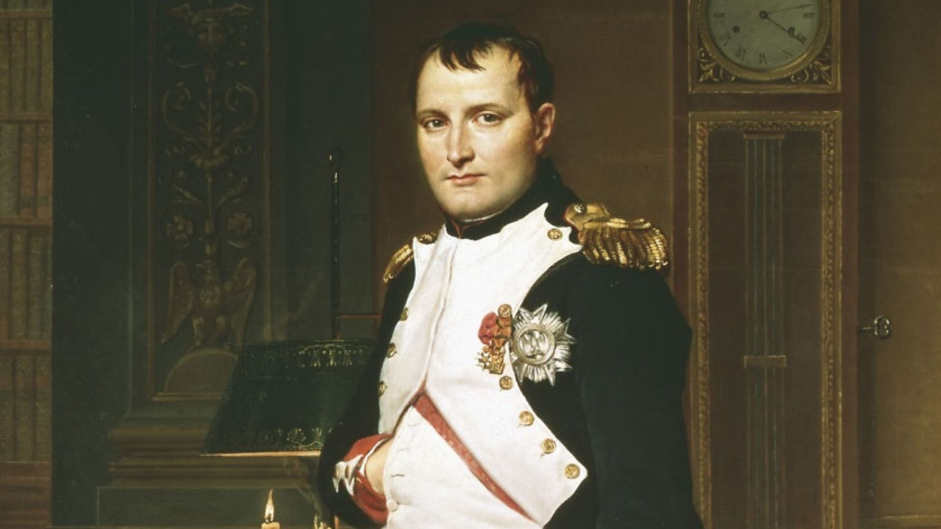 Portrait of Napoleon by David Jacques Louis (question eight) - Credit: Getty Images