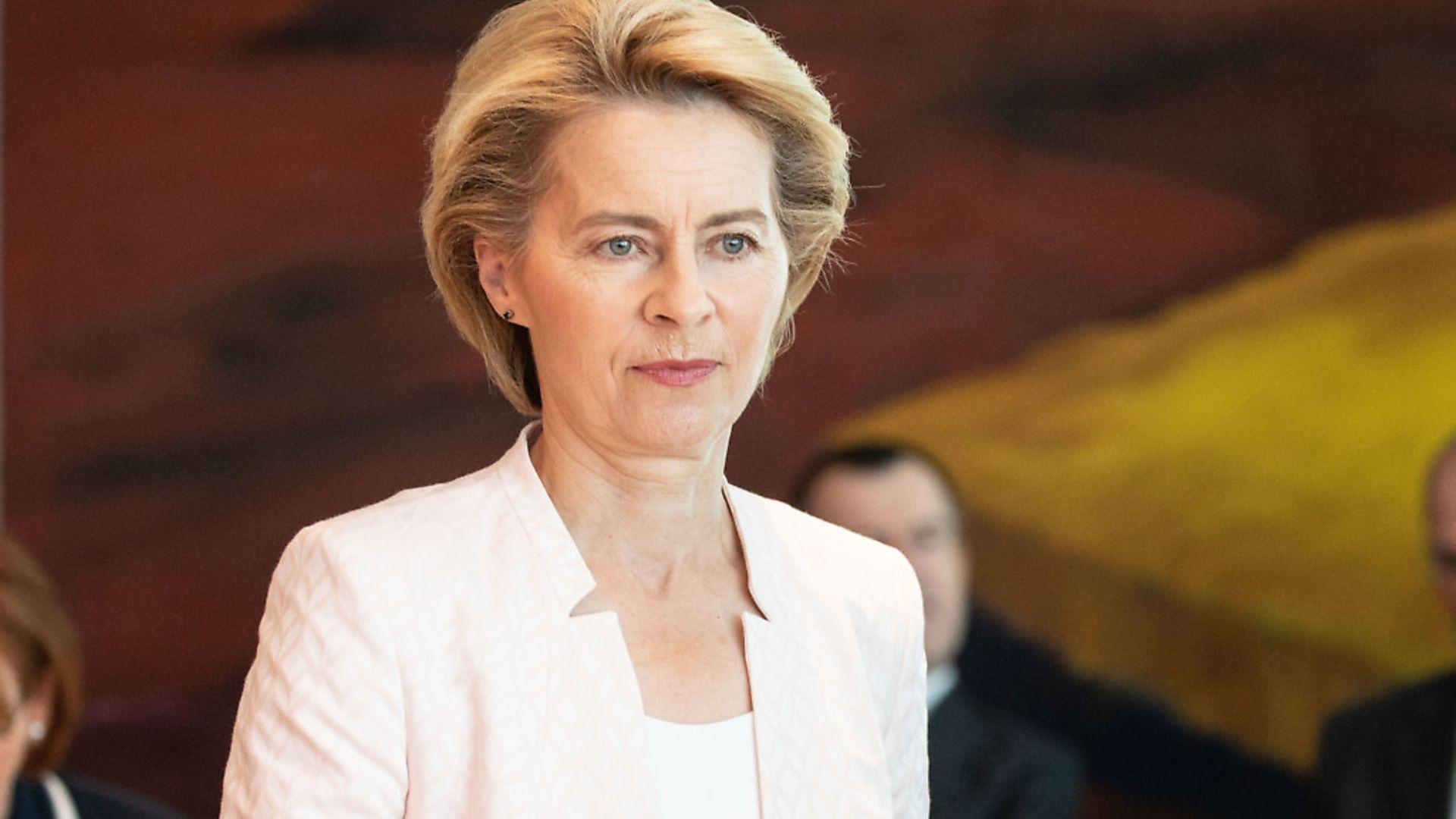 Ursula von der Leyen. (Photo by Omer Messinger/Getty Images) - Credit: Getty Images
