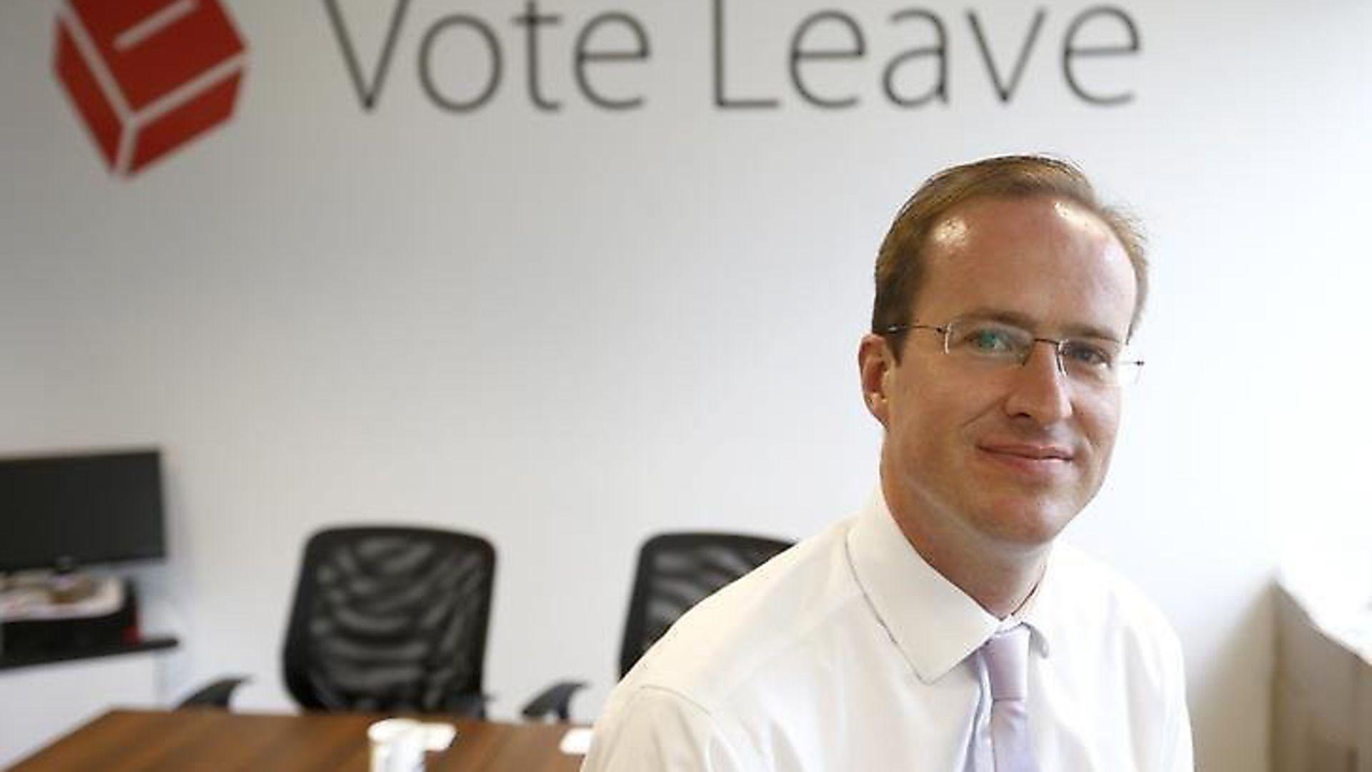 Vote Leave architect Matthew Elliott. Photograph: Vote Leave. - Credit: Archant