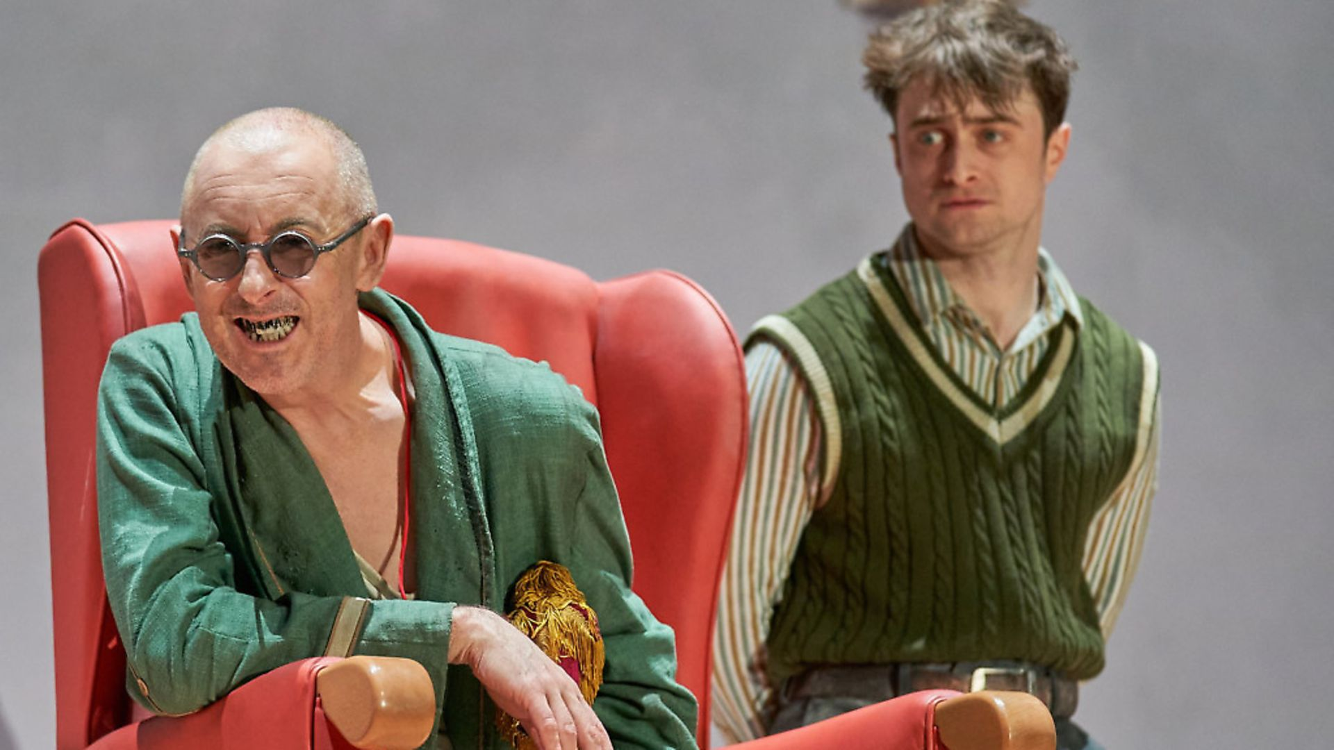 Alan Cumming and Daniel Radcliffe in Endgame. Photo: contributed - Credit: Archant