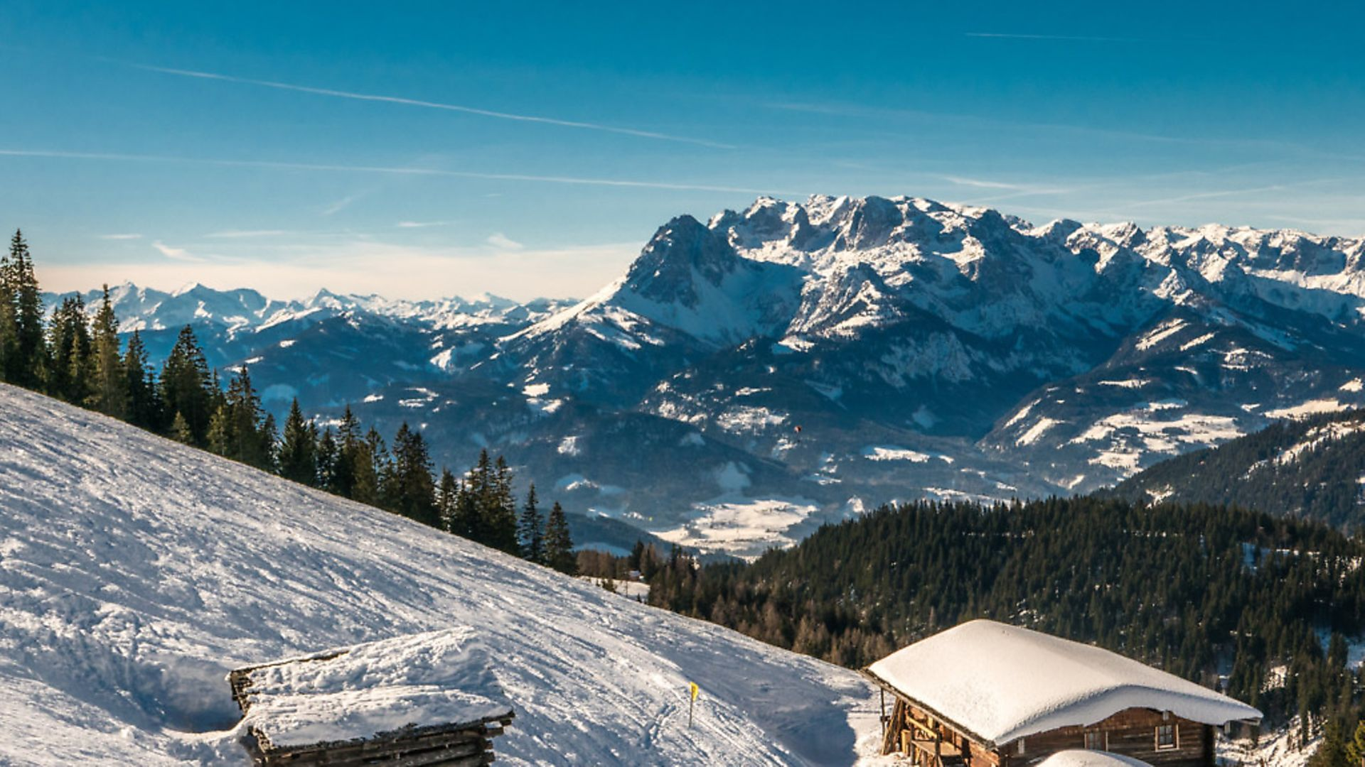 The Alps is the setting for a number of novels centuring on a hermitic lifestyle. Photo: Getty Images - Credit: Getty Images