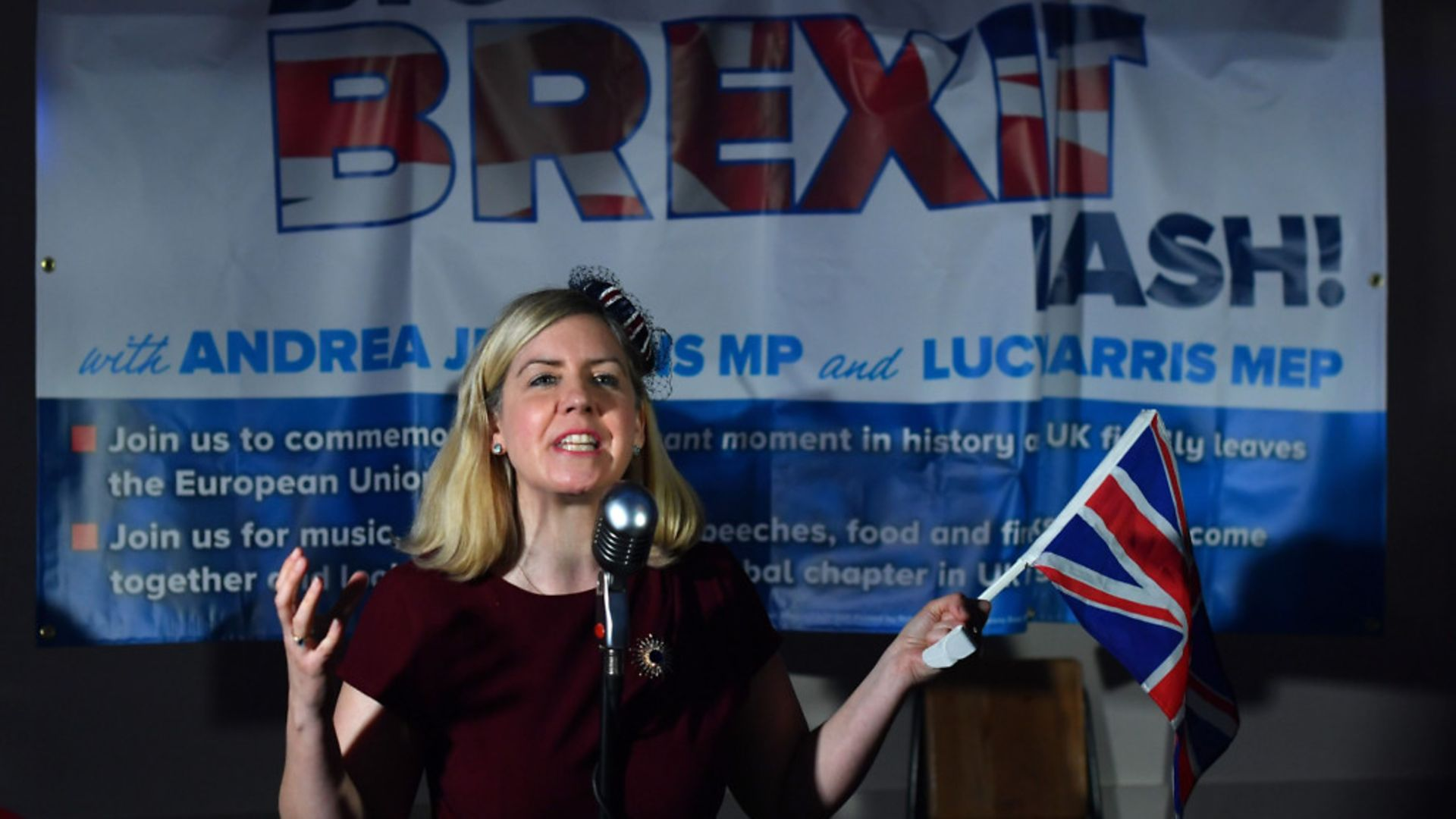 Conservative Party MP, Andrea Jenkyns - Credit: AFP via Getty Images