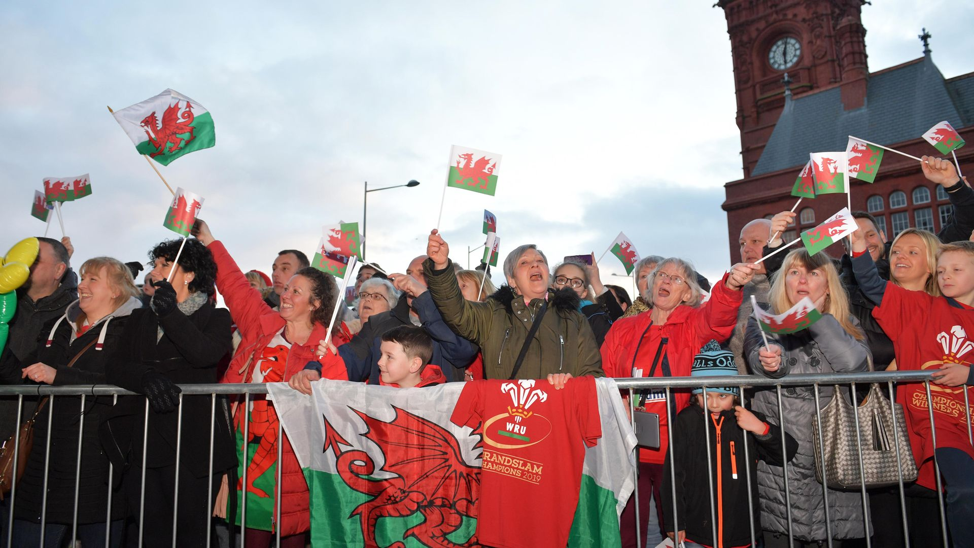 Supporters of Wales during the 2019 Six Nations Grand Slam - Credit: PA