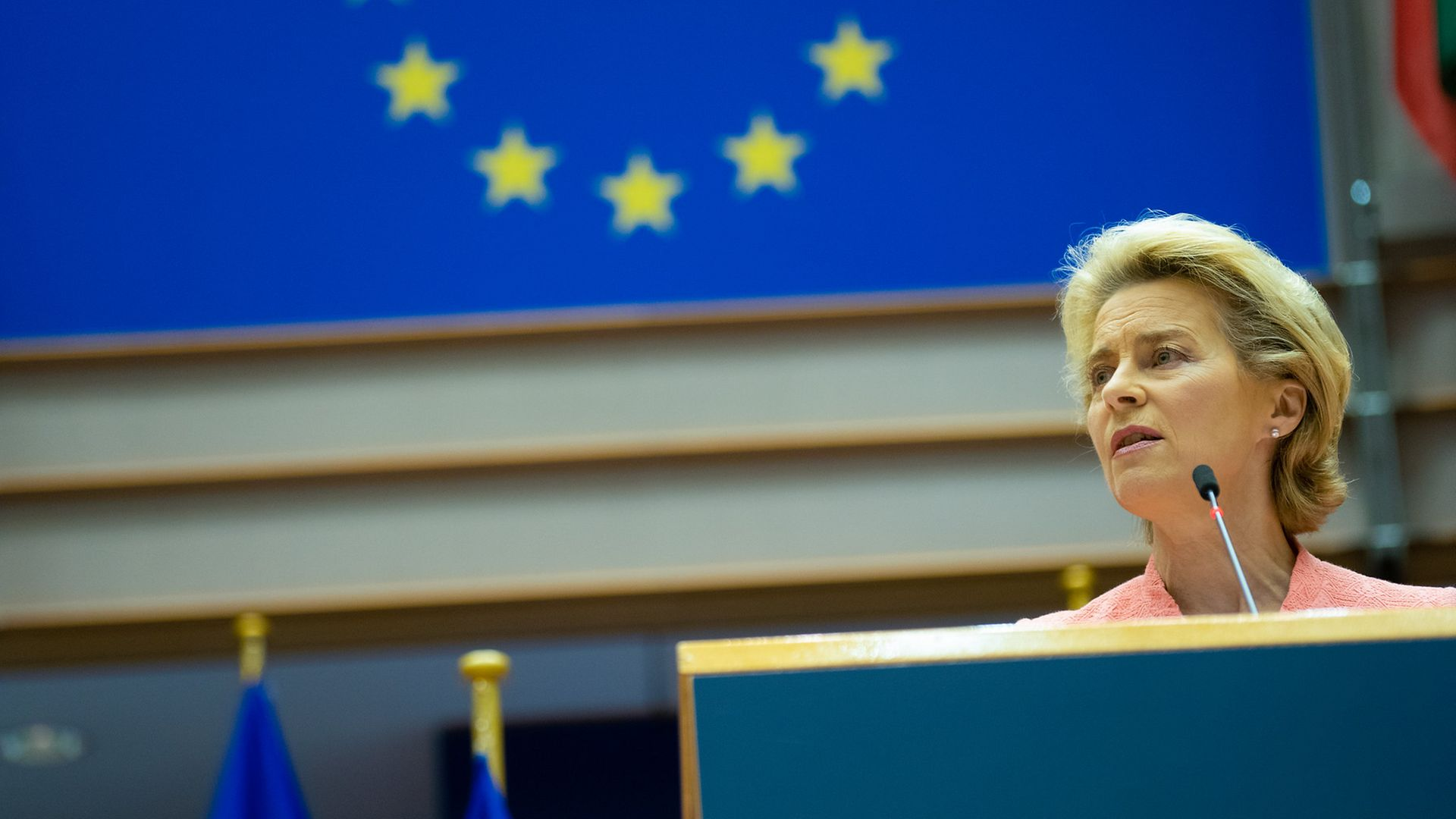 Ursula von der Leyen - Credit: European Parliament