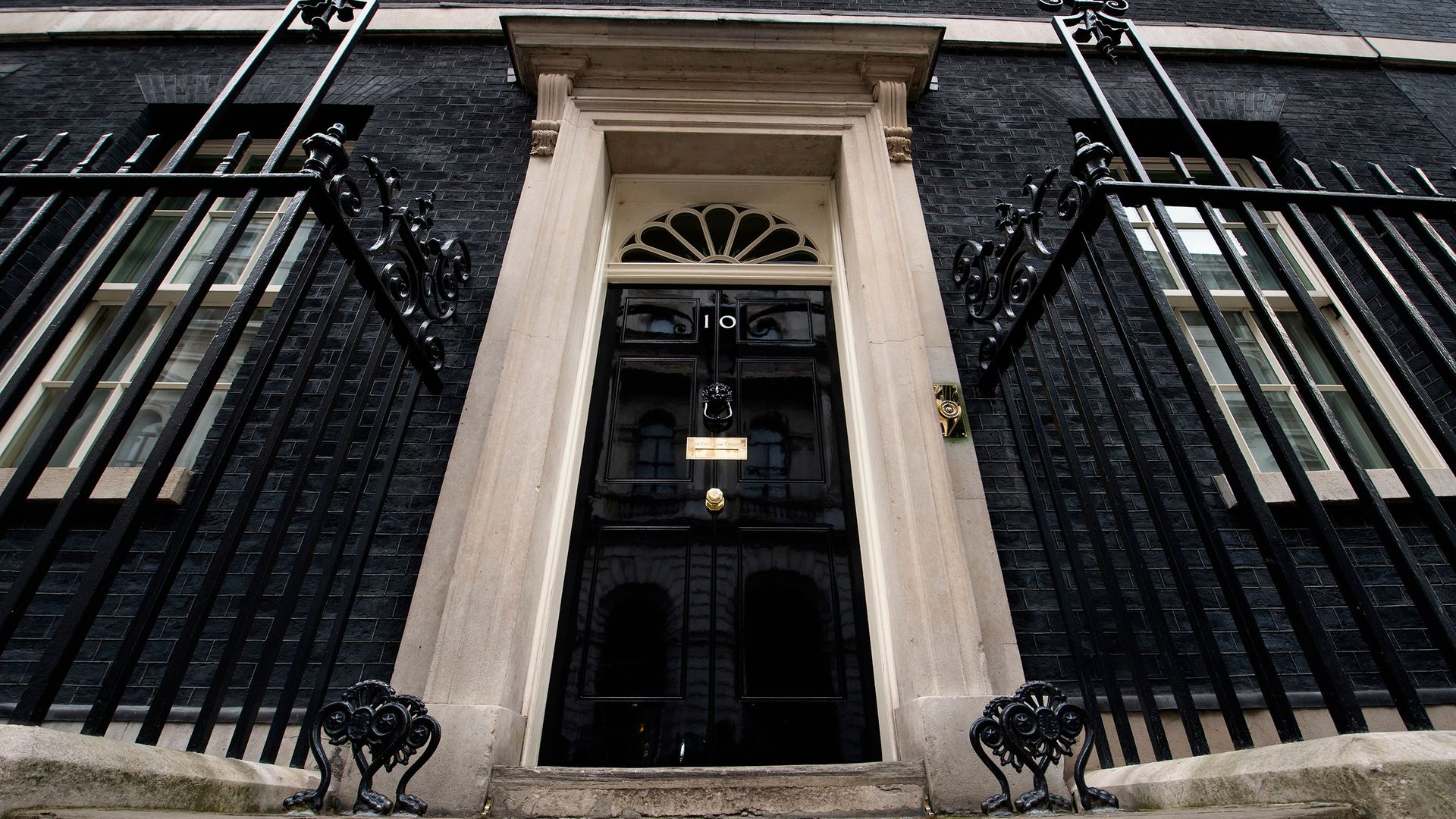 The door of 10 Downing Street, London - Credit: PA