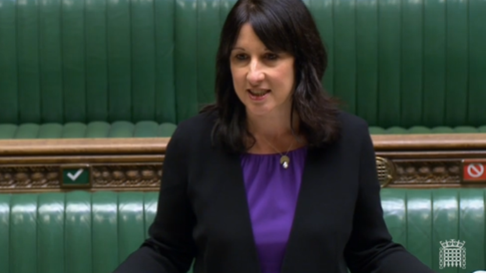 Rachel Reeves in the House of Commons - Credit: Parliament Live