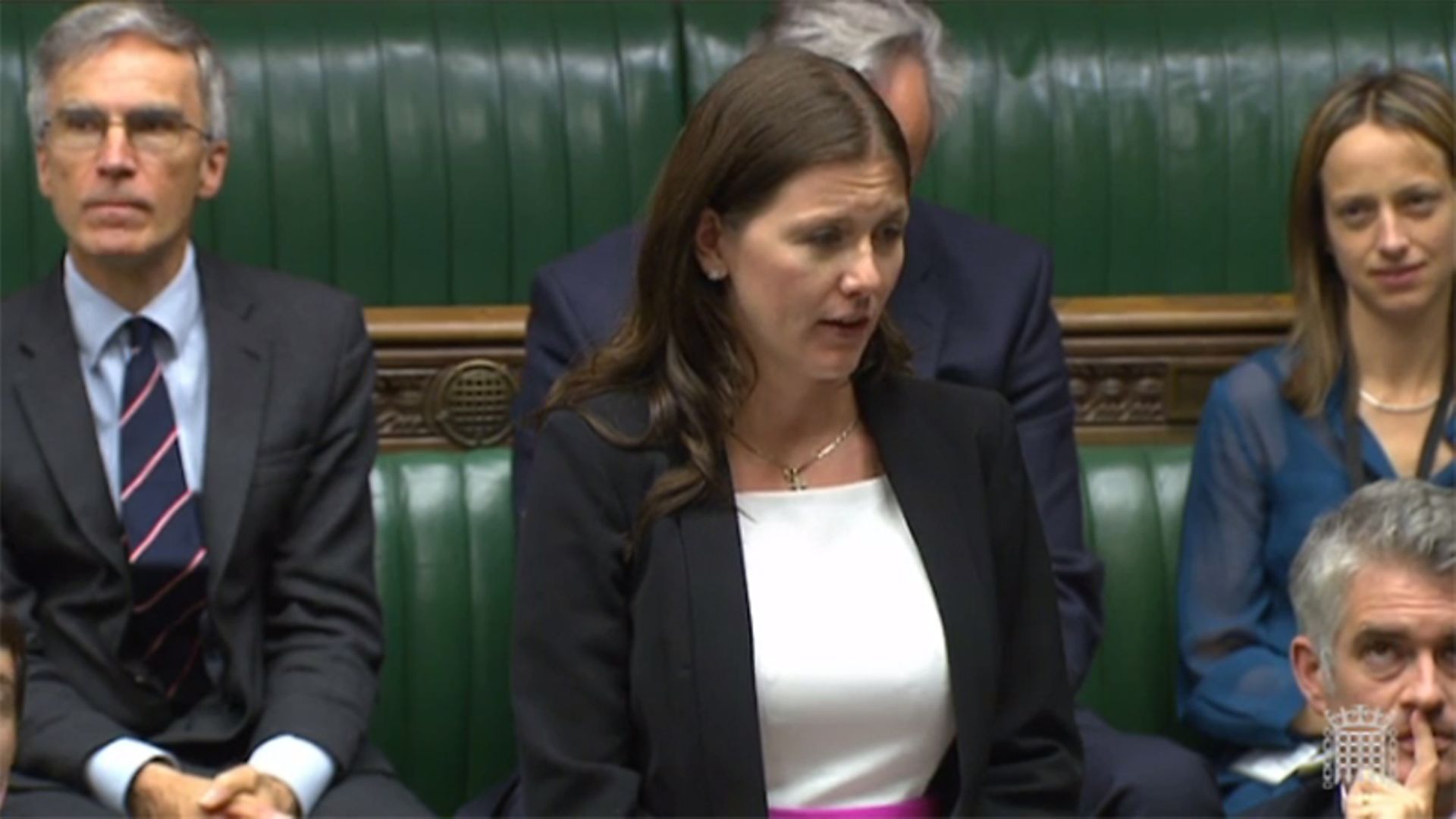 Michelle Donelan in the House of Commons - Credit: Parliament Live
