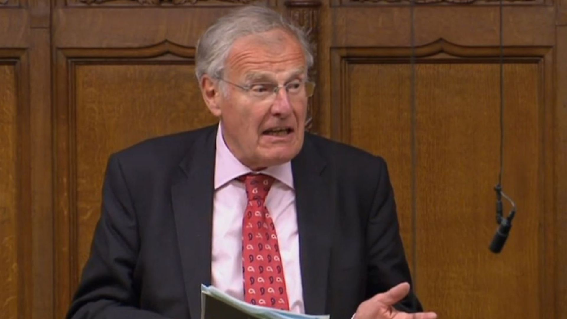 Christopher Chope speaking in the House of Commons. Photograph: PA. - Credit: PA Archive/PA Images