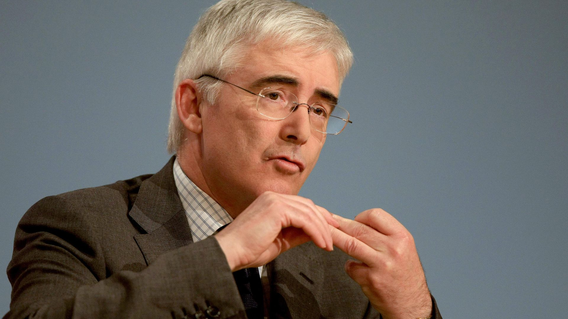 Lord Freud at the Annual Conservative Party Conference in Birmingham - Credit: PA