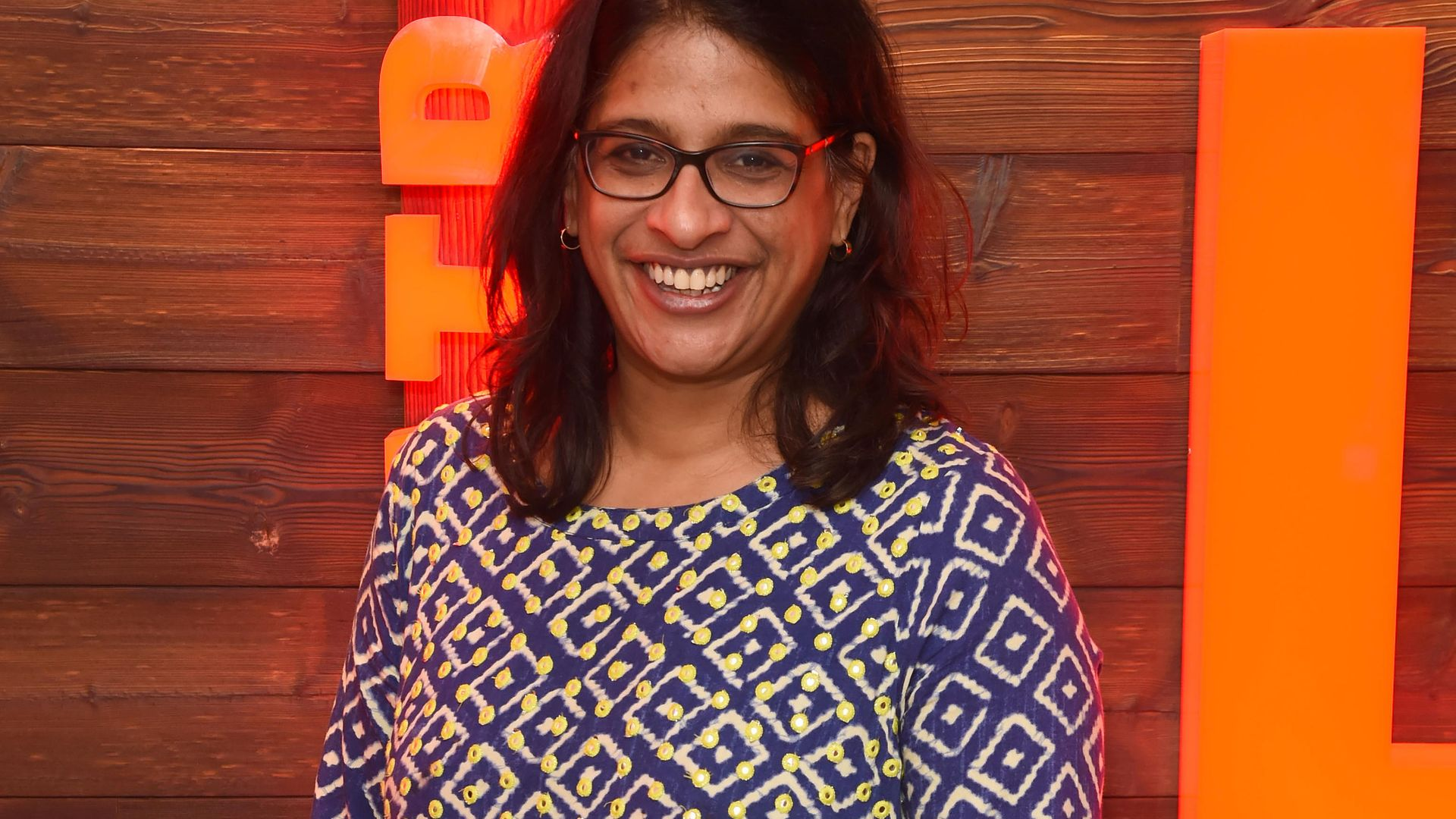 Director Indhu Rubasingham at the Kiln theatre in October 2019 - Credit: Dave Benett/Getty Images