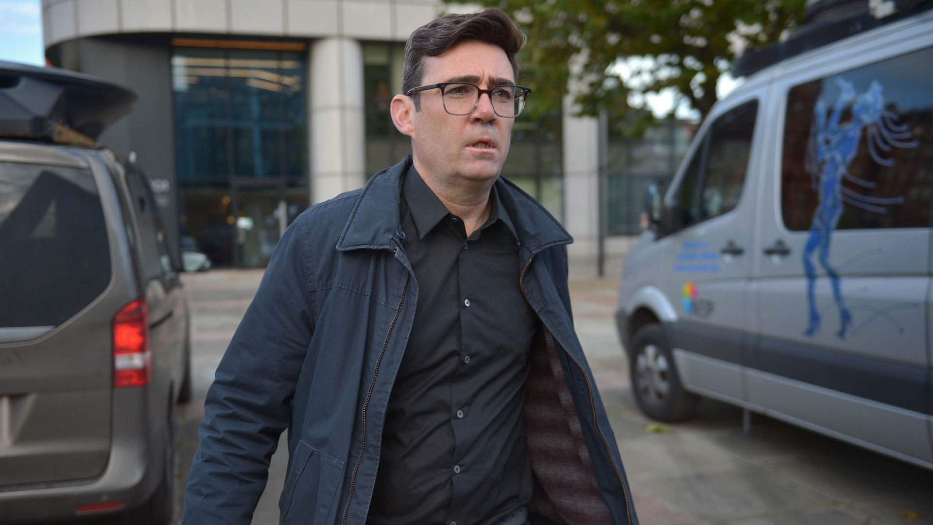 Downing Street strategists suggest Andy Burnham (pictured above) could be leading the Labour Party into the next election in 2024 - Credit: PA