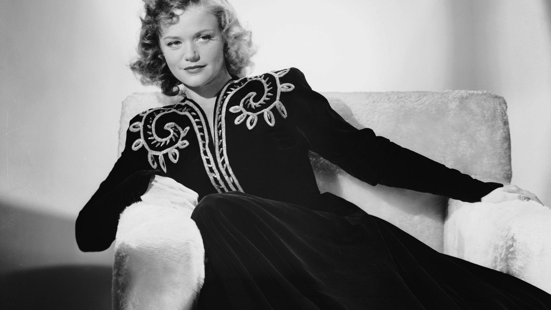 Actress Simone Simon, circa 1942 - Credit: Getty Images