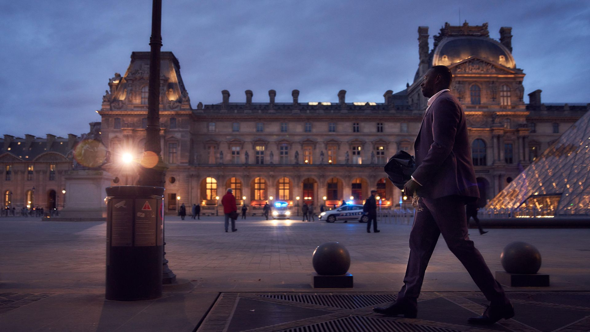 A scene from the Netflix series of Lupin - Credit: Emmanuel Guimier/Netflix