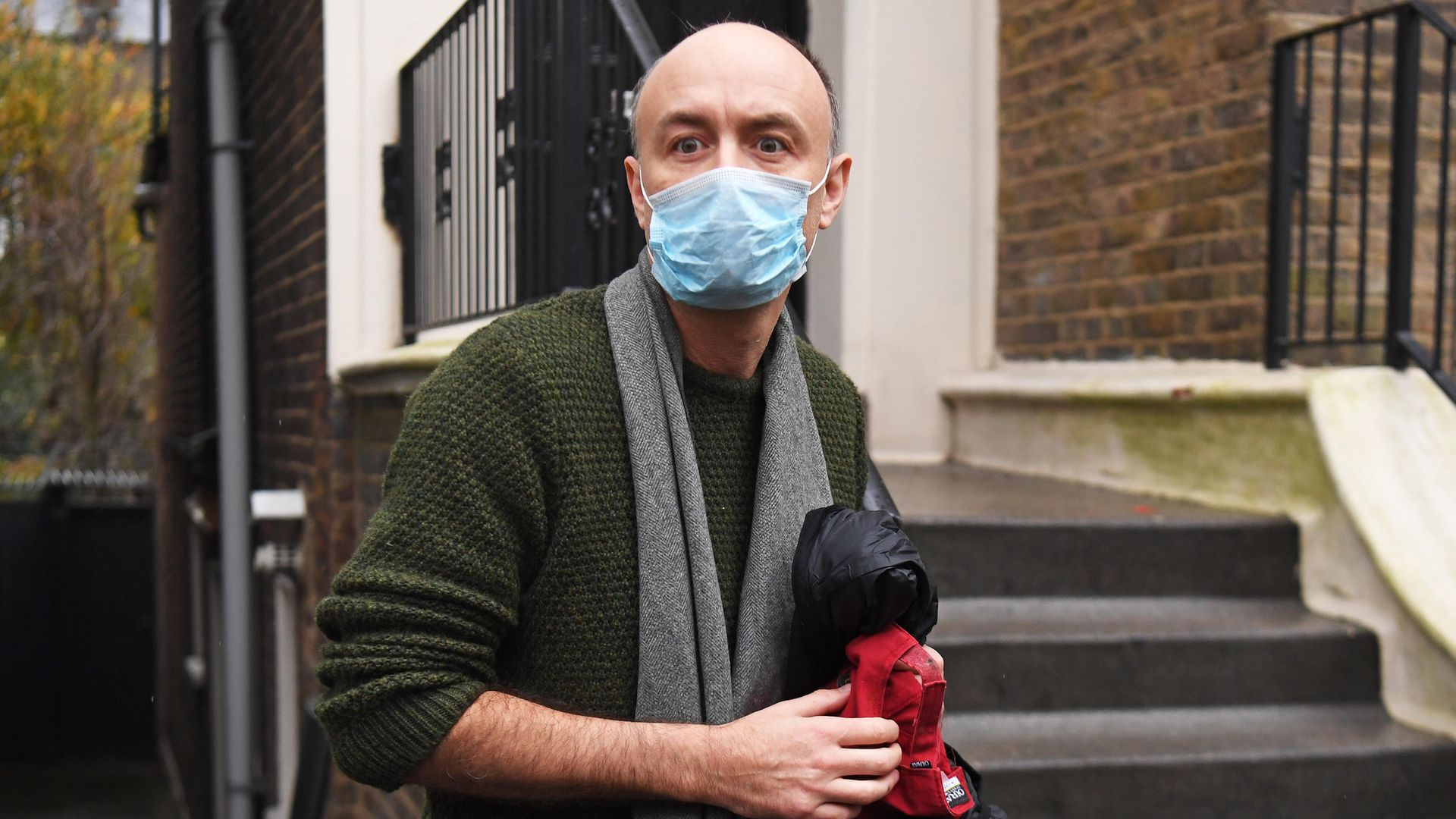 A High Court judge is pondering whether to proceed with a case against Dominic Cummings (pictured above), which accuses him of awarding government contracts to friends during the pandemic - Credit: PA