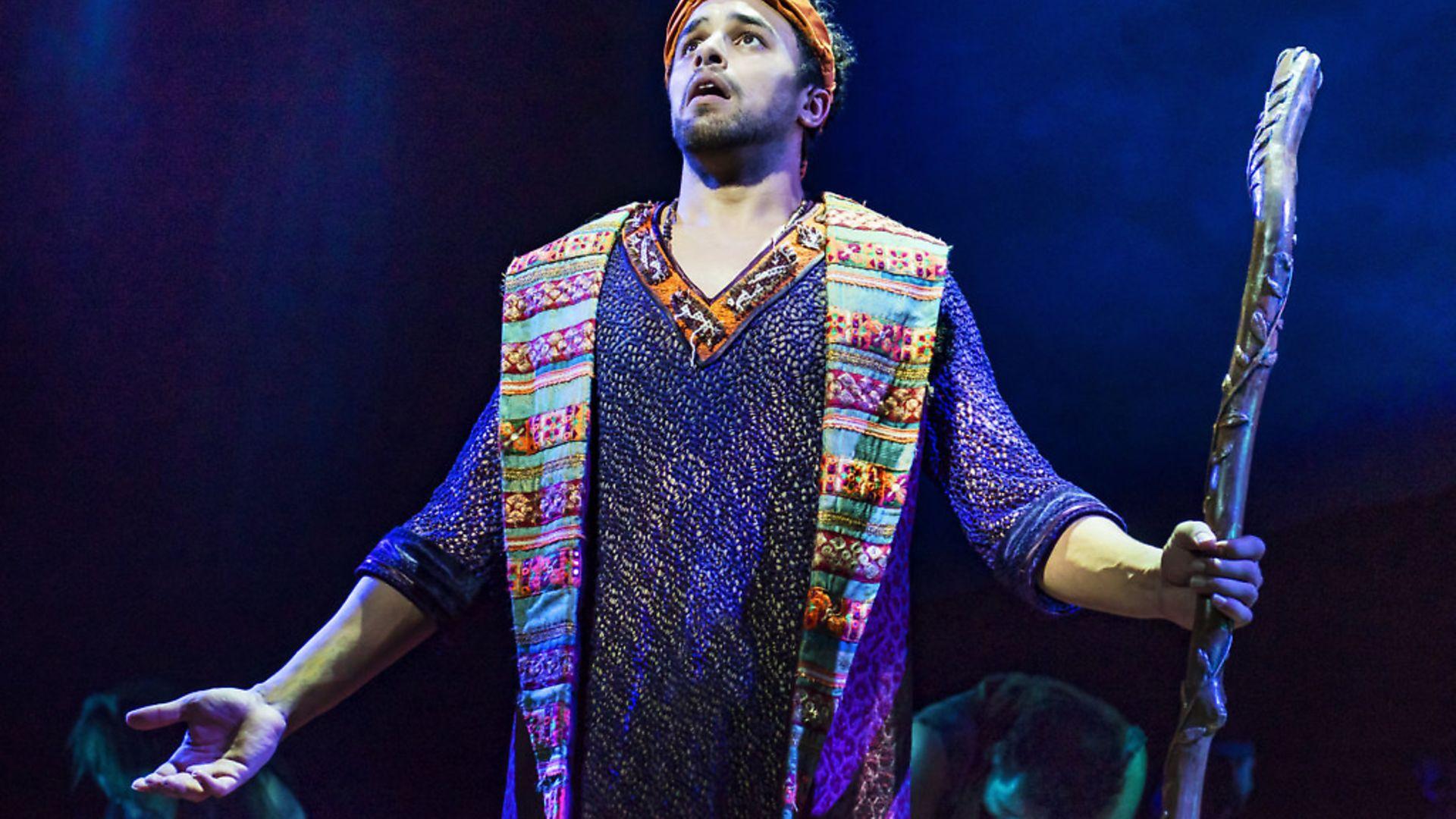 Luke Brady as Moses in The Prince of Egypt. Picture: Matt Crockett - Credit: Archant