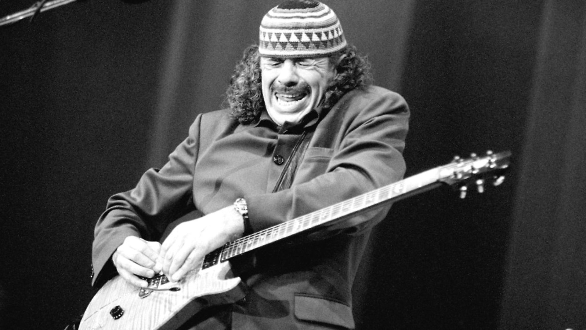 Carlos Santana performs on July 12, 1996, at the North Sea Jazz Festival in The Hague, Netherlands. Picture: Frans Schellekens/Redferns - Credit: Redferns
