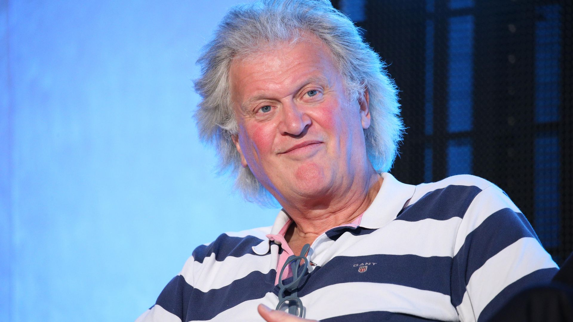 Brexiteer and Wetherspoons boss Tim Martin during a Brexit Party event at the QEII Centre in London. - Credit: PA