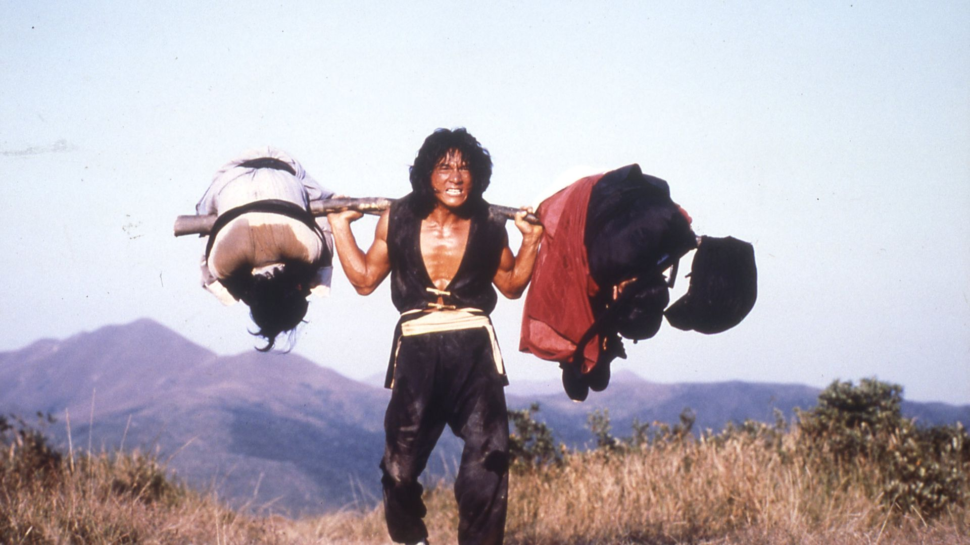 Jackie Chan was both director and star of 1980's The Young Master at the age of 26 - Credit: 88 Films