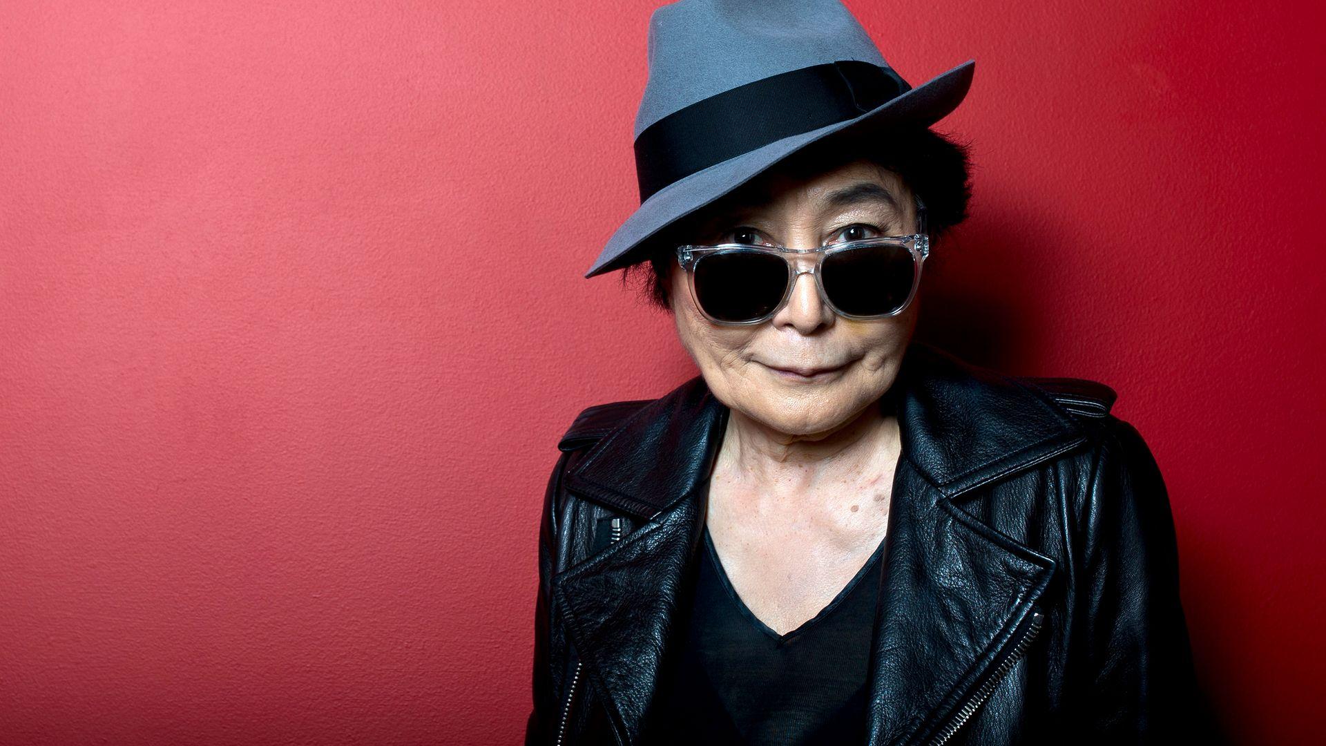 TRANSGRESSOR: Yoko Ono, in 2013 - Credit: Getty Images