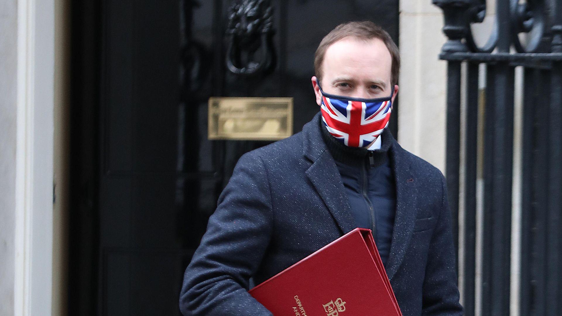 Health Secretary Matt Hancock leaves 10 Downing Street - Credit: PA