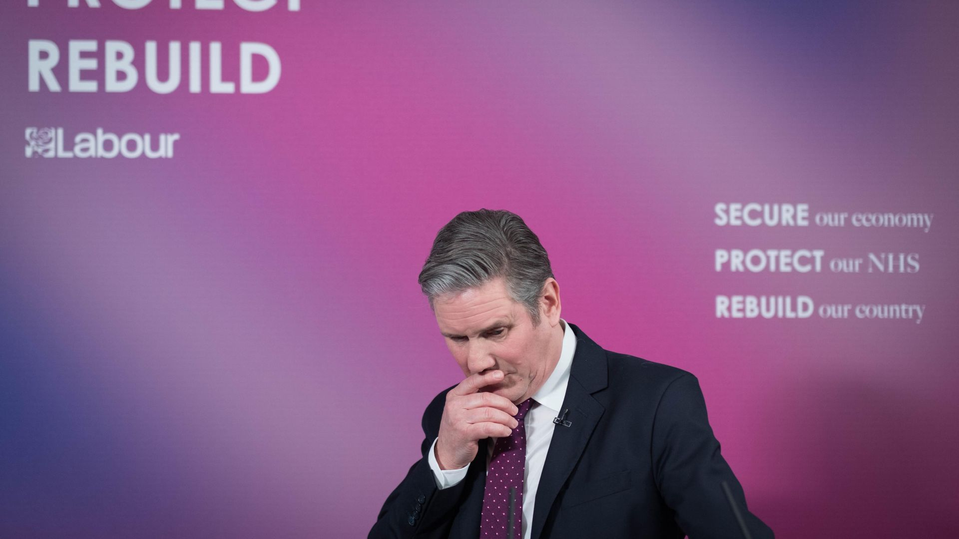 Labour MPs have expressed dismay at orders by Keir Starmer to remain silent on Brexit issues - Credit: PA
