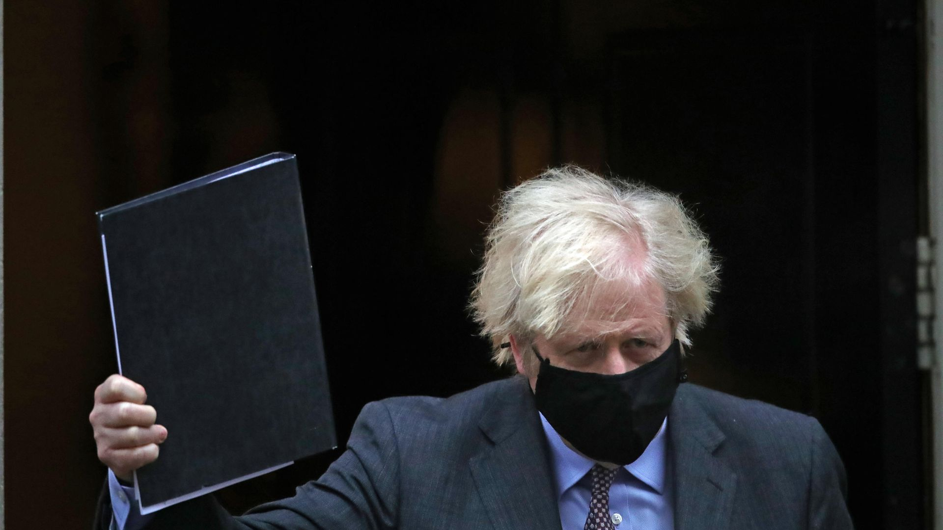Prime minister Boris Johnson leaving 10 Downing Street - Credit: PA