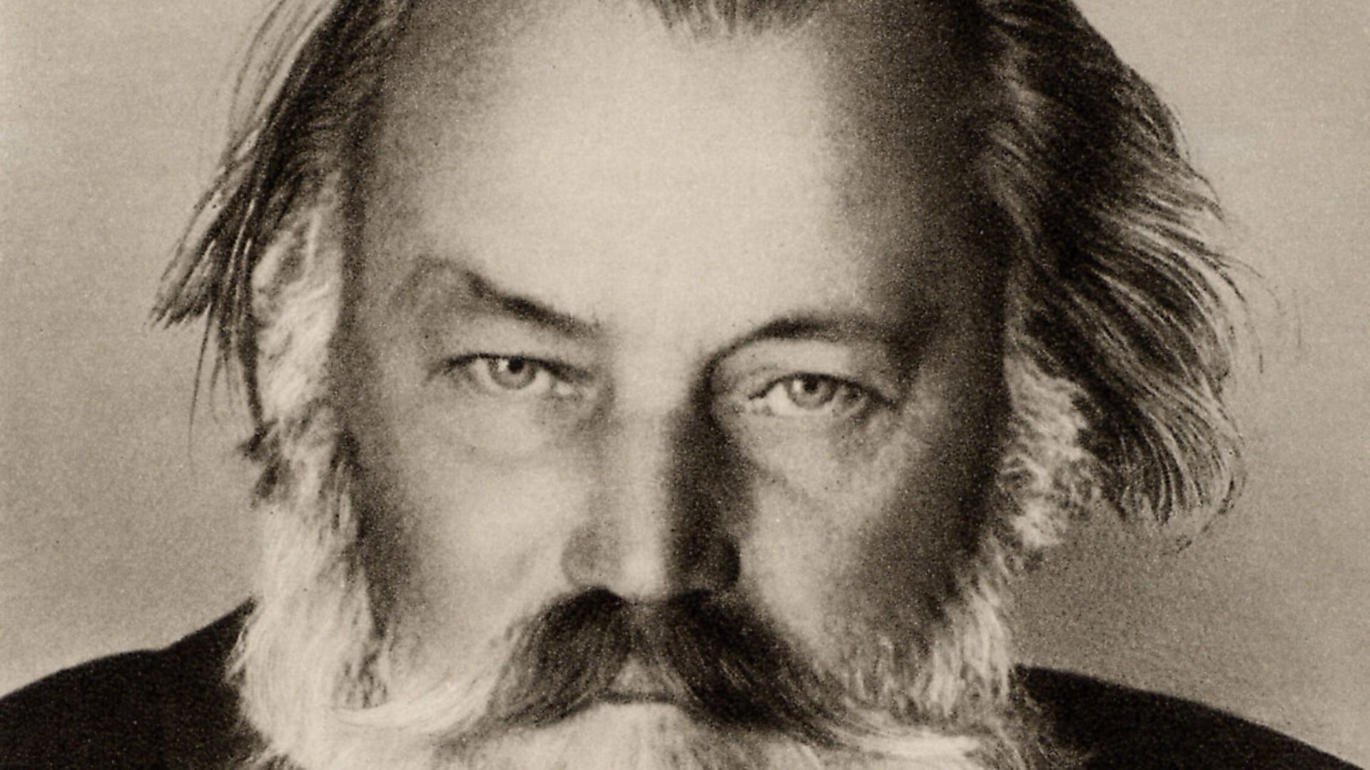 Johannes Brahms (1833-1897) German composer. From photograph taken in the the last year of his life. Halftone. (Photo by Universal History Archive/Getty Images) - Credit: Getty Images