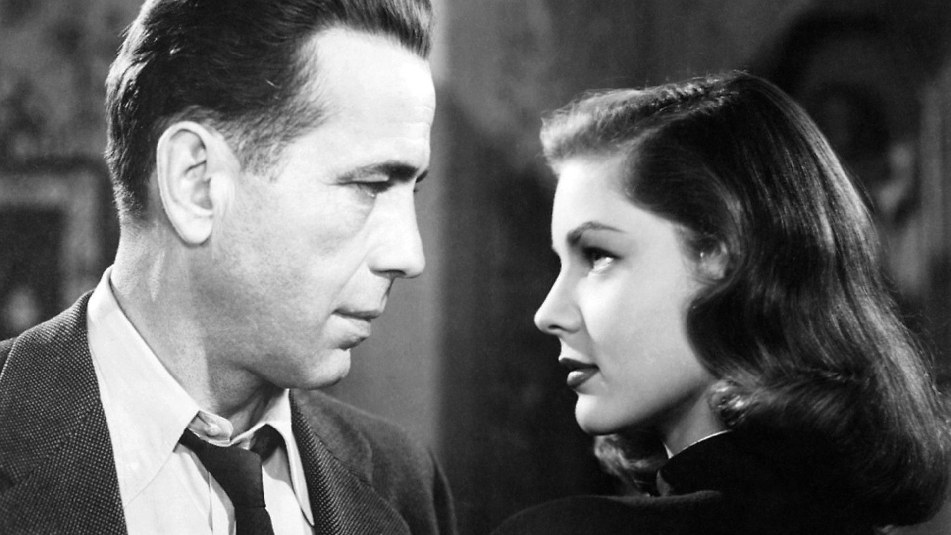 Humphrey Bogart and Lauren Bacall from the 1946 film The Big Sleep. Photograph: National Motion Picture Council/Wikimedia. - Credit: Archant