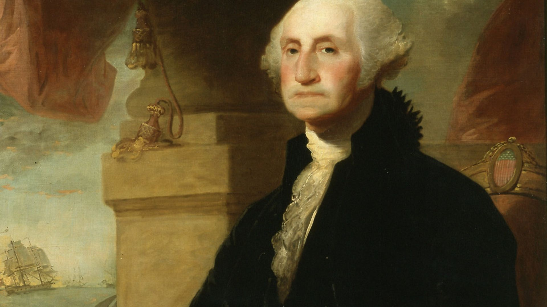 George Washington, portrait painting by Constable-Hamilton, 1794. From the New York Public Library. Picture: Smith Collection/Gado/Getty Images - Credit: Getty Images