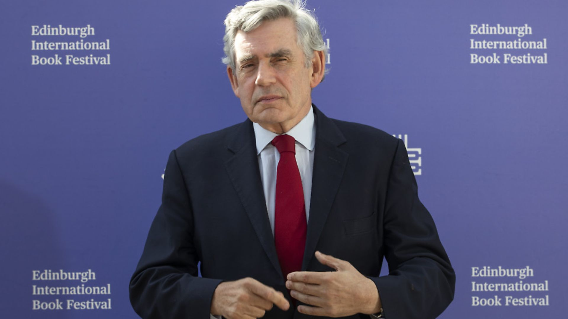 Former prime minister Gordon Brown. Photograph: Jane Barlow/PA. - Credit: PA Wire/PA Images
