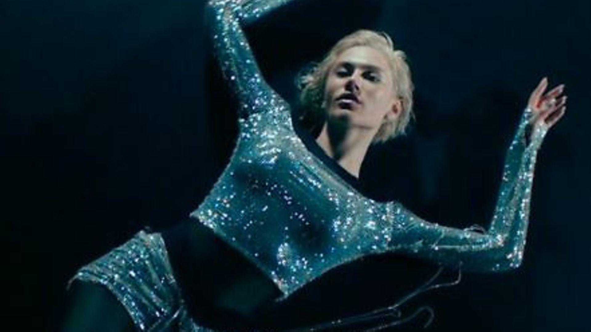 Greek singer Elena Tsagrinou in the video for El Diablo, Cyprus' controversial entry for Eurovision 2021 - Credit: Panik Records