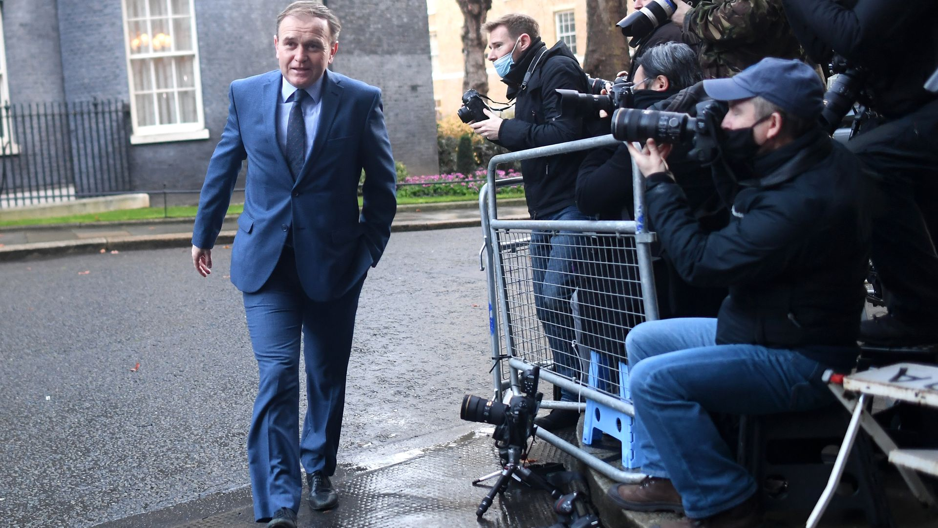 Environment secretary George Eustice leaves Downing Street for a Cabinet meeting - Credit: Peter Summers/Getty Images