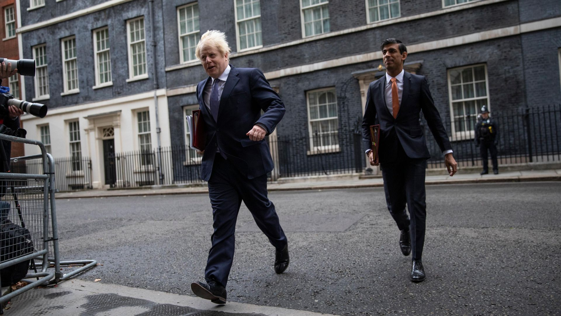 Prime Minister Boris Johnson and Chancellor Rishi Sunak - Credit: Getty Images
